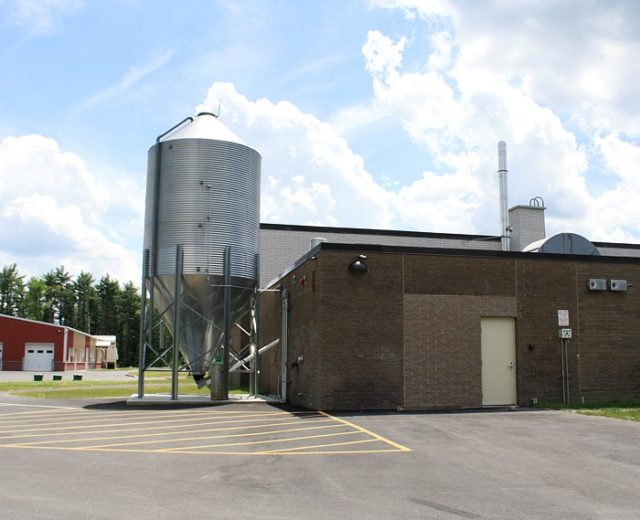 Mascenic Schools<br /> Wood Chip Facility