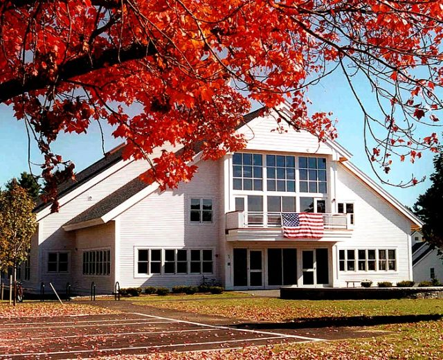 The Meetinghouse Theater<br /> at Proctor Academy<br /> Rebuild NH Compliant