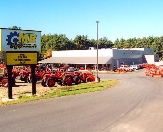 MB Tractor Sales & Equipment<br /> Plaistow, NH