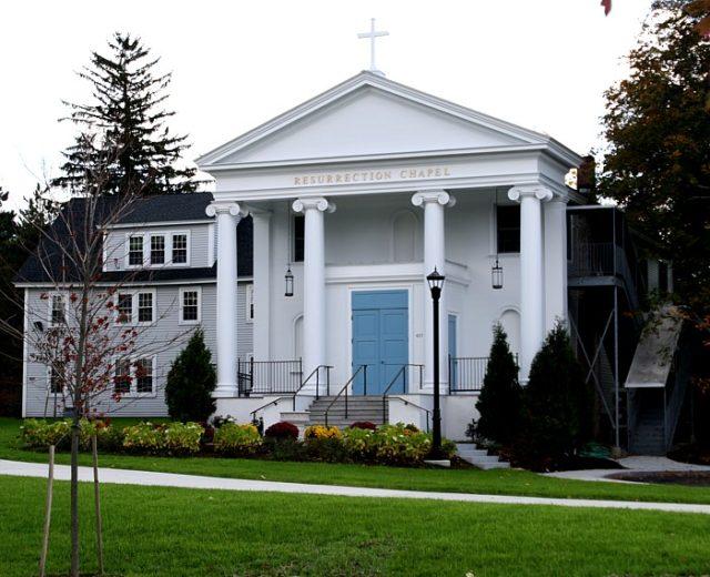 Rivier University<br /> Resurrection Chapel<br /> Nashua, NH