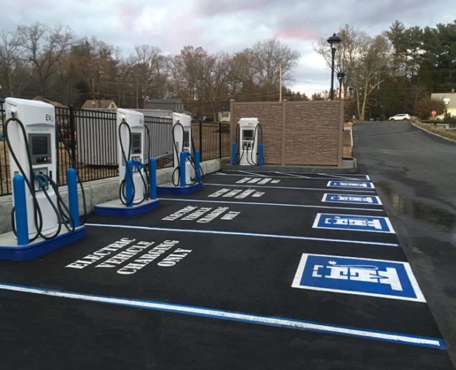 EvGo Car Charging Station<br /> Sturbridge, MA