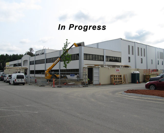 Hitchiner Manufacturing<br /> Plant 3 Construction<br /> Milford, NH