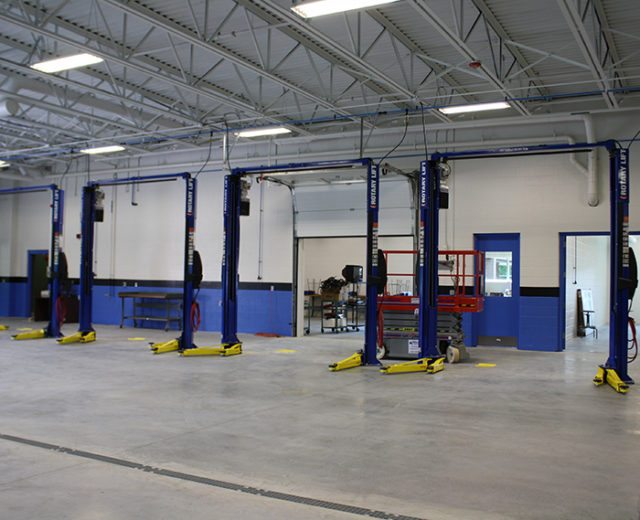 Nashua Community College<br /> Automotive Training Addition<br /> Nashua, NH