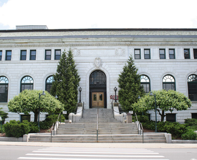 Carpenter Memorial Library Renovation & Restorations<br /> Manchester, NH